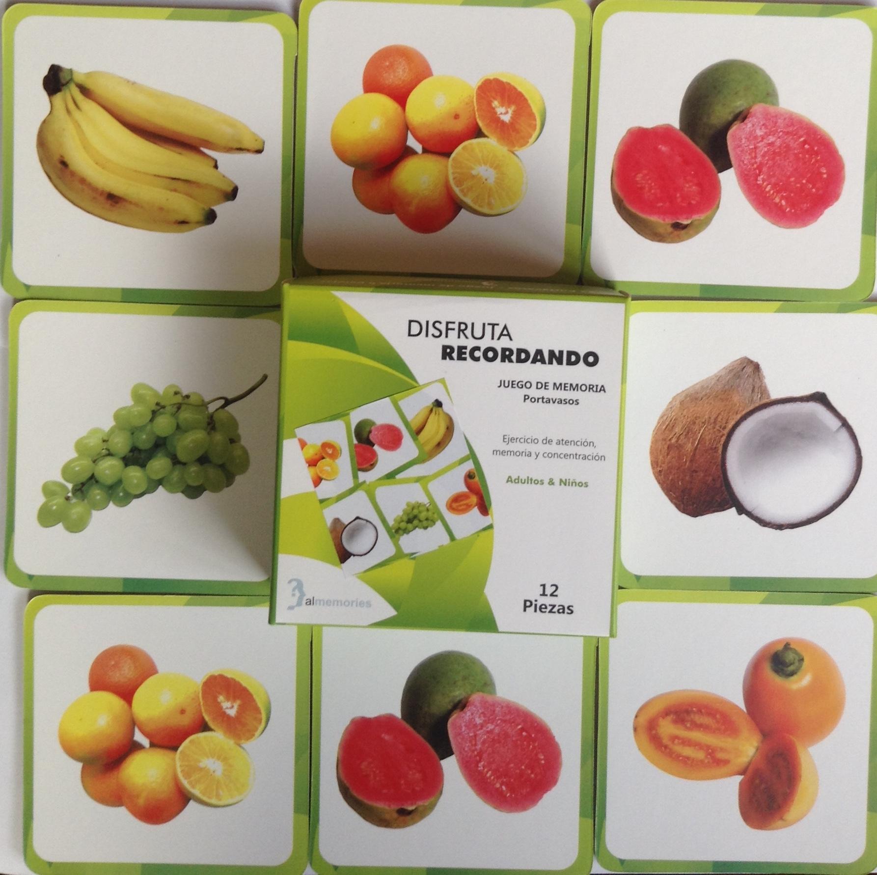 Portavasos Frutas